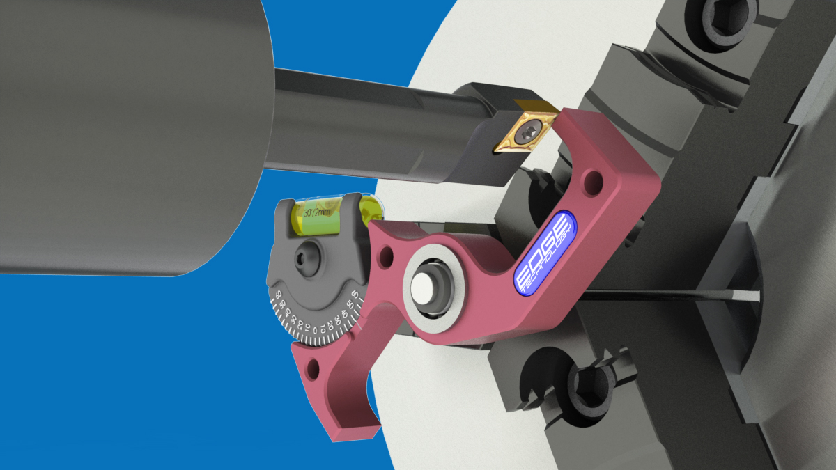setting boring bars on spindle axis for cnc lathe