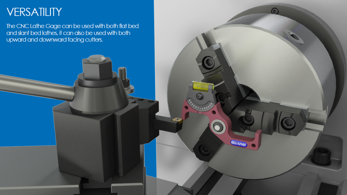 setting cnc lathe cutting tools on spindle axis